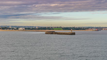 View From The North Sea Toward...