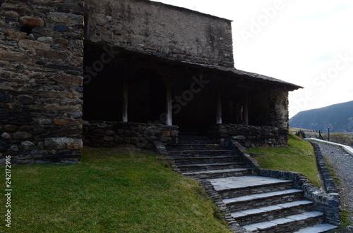 Fotografie, Obraz  escalera de piedras