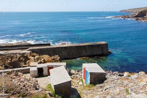 Foto op Plexiglas Poort Port de Pors Loubous à Plogoff