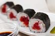 Sushi maki with tuna