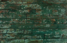 St. Patrick's Day Green Happy Wooden Background