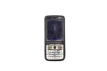 Retro Phone On White Backgroun...