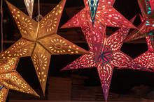 Paper Star Lantern Lights