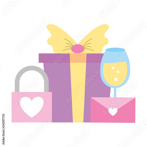 Fotografía  valentine day card