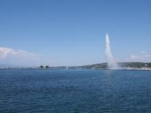 Beautiful Water Jet On Geneva ...