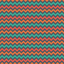 Bright Chevron Seamless Patter...