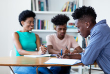 Female Teacher Learning With African American Students