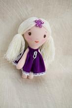 Rag Interior Handmade Doll For Decor In The Nursery