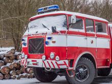 Old Czech Fire Truck
