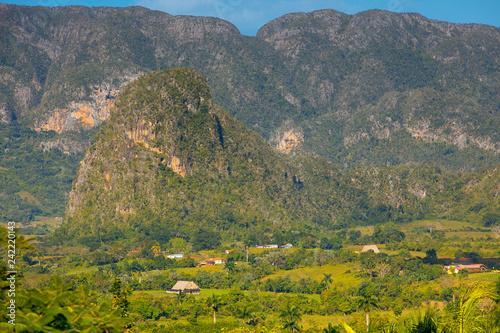 Vinales Cuba mountains Canvas Print