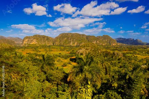 Vinales Cuba landscape Canvas Print
