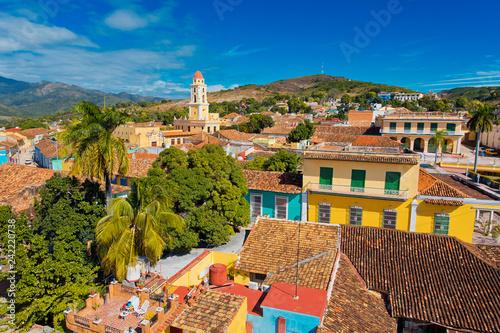 Photo  Trinidad Cuba skyline panorama view