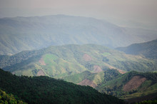 View On Doi Phu Kha In Afterno...