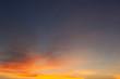 sunrise with clouds,Fiery orange sunset sky. Beautiful sky