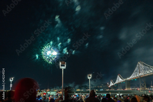 Fireworks in San Francsisco #242241124