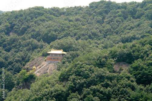 Spoed Foto op Canvas Khaki buddhist temple