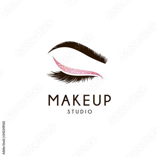 Fotografia Vector logo design template for beauty salon