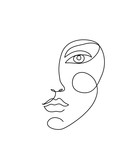 Abstract face icon - 242261705