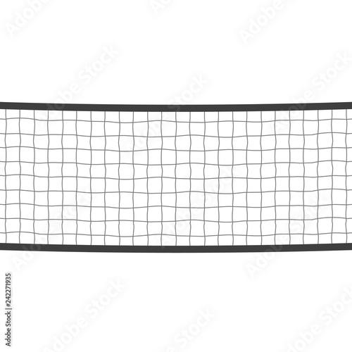 Volleyball sport net Billede på lærred