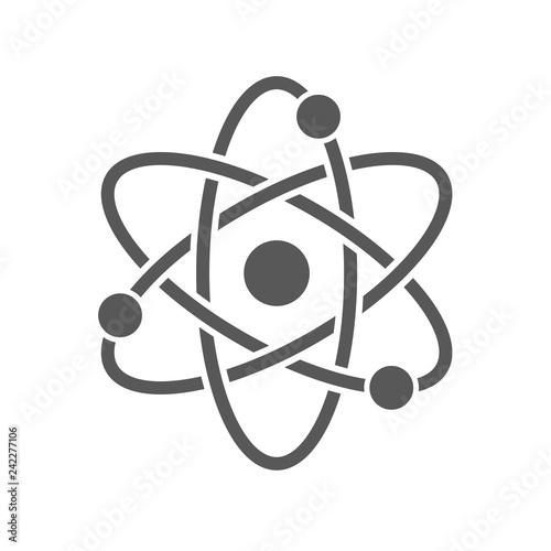 Foto Vector atom icon