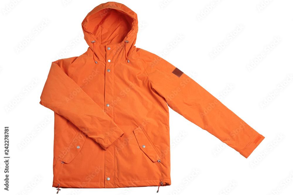 Fototapeta Male winter jacket