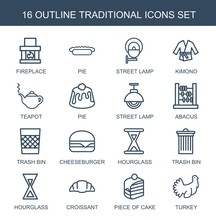 16 Traditional Icons
