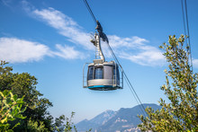 Cable Car On A Beautiful Summe...