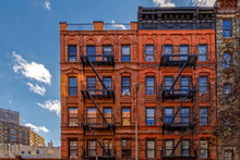New-York Building Facades With...