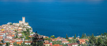 Idyllic Coastline In Italy: Bl...
