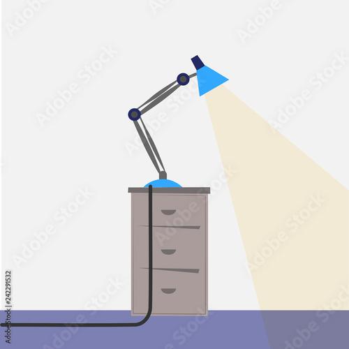 Fotografie, Obraz  flexible desk lamp