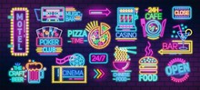 Collection Of Symbols, Signs O...