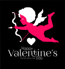 Happy Valentine S Day. Cute De...