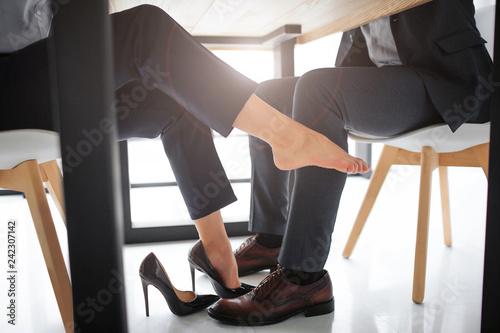 Concept harassment Fototapet