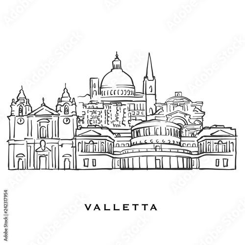 Valletta Malta famous architecture