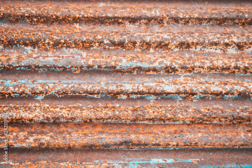 Vászonkép steel metal with rust texture for vintage background
