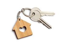 House Keys With House Shaped K...