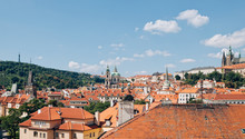 Prague Hradcany From Above