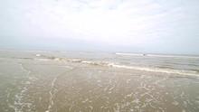 The Coastline Of The Beach Aft...