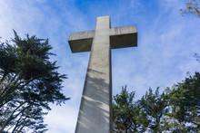 The Cross On Top Of Mt Davidson, San Francisco, California