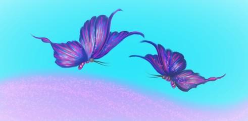 Fototapeta na wymiar Schmetterlinge