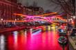 Leinwanddruck Bild - Amsterdam City