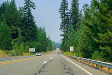 Smoky Skies While Driving On H...