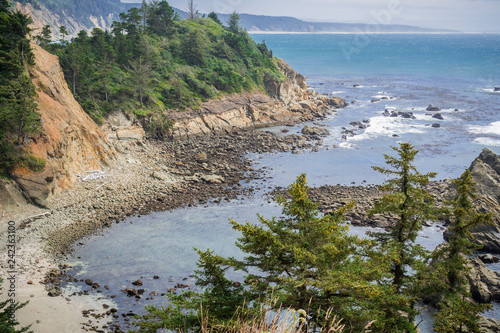 Photo Protected cove near Cape Arago State Park, Coos Bay, Oregon