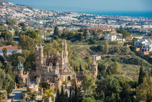 View Of Colomares Castle In Be...