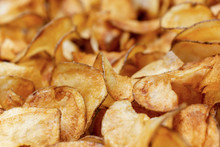 Potato Chips Fresh Out Of The ...