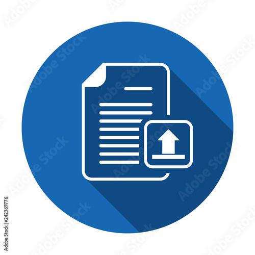Upload documentation vector Fototapet