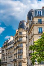 Paris, Ancient Building, Typic...
