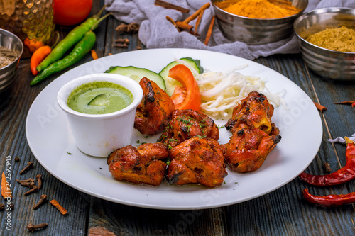 chicken tikka indian food