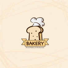 Bakery Bread  Reataurant Brand Logo Symbol Icon Graphic Design