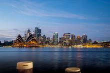 Sydney7 City At Sunrise